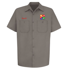 Facility Management Short Sleeve Work Shirt