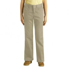 Girl's Flat Front Pants by Dickies