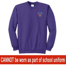 Child Crewneck Sweatshirt - Purple