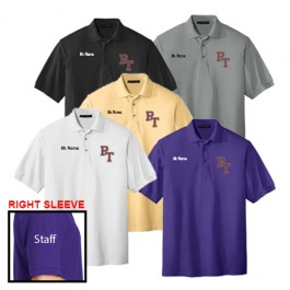 Staff Men's Short Sleeve Polo Shirt