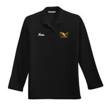 SP Ladies' Long Sleeve Polo Shirt