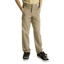 Boy's Flat Front Pants by Dickies