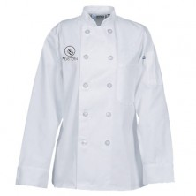 Culinary Ladies' 10 Button Chef Coat