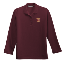 Ladies' Silk Touch Long Sleeve Polo
