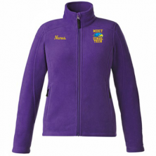 MDET - Ladies' Full Zip Polar Fleece