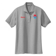 HVAC Ladies' Short Sleeve Polo Shirt