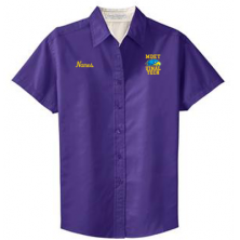 MDET - Ladies' Short Sleeve Work Shirt