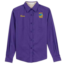 MDET -  Ladies' Long Sleeve Work Shirt