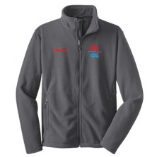 HVAC Men's Full Zip Polar Fleece