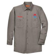 HVAC Long Sleeve Work Shirt