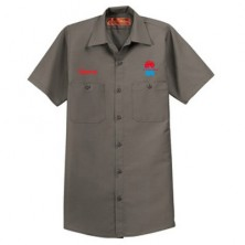 HVAC Adult Short Sleeve Work Shirt