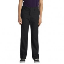 Ladies' Junior Stretch Classic Straight Leg Pant by Dickies